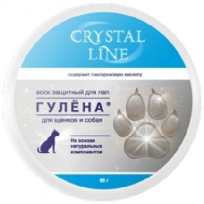 Apicenna Crystal Line Гулена защитный воск для лап собак 90 гр