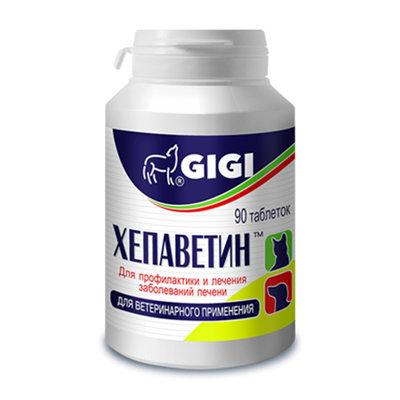 GiGi Хепаветин таблетки для собак 90 таблеток