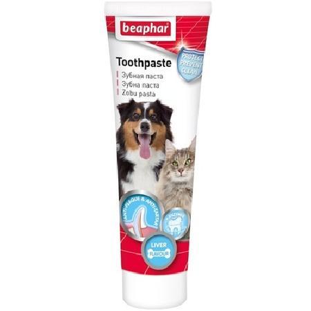 Beaphar паста зубная длЯ собак ,к NEW со вкусом печени 100 мл