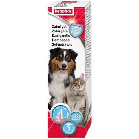 Beaphar Золотая линия зубной гель для кошек и собак 100 гр