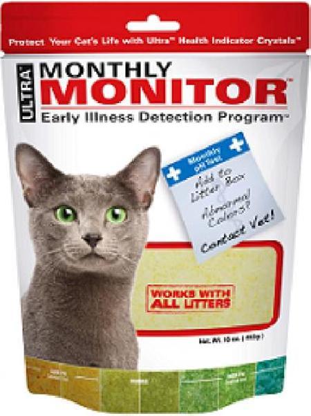 Litter Pearls Monthly Monitor индикатор PH мочи у кошек 453 гр