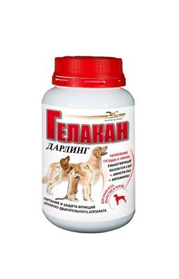 Gelacan Дарлинг кормовая добавка для собак 150 гр
