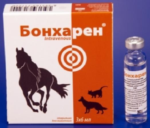 Бонхарен Форте р-р динъекц. 10мгмл, 6мл, (3 амп.упак)