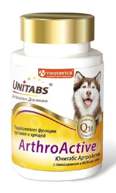 Unitabs ArthroАctive витаминно-минеральный комплекс для собак 100 таб