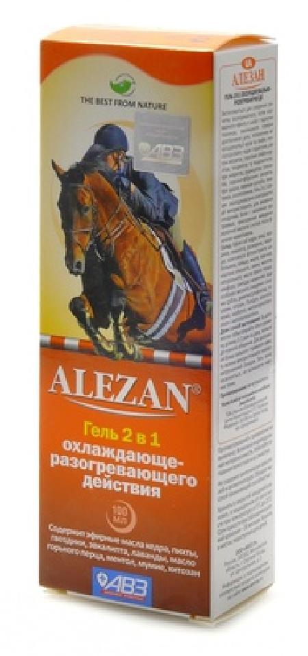 АВЗ Alezan 2в1 гель для животных охлаждающе-разогревающего действия 100 мл