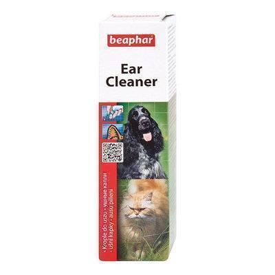 Beaphar Лосьон для ухода за ушами у кошек и собак (Ear-Cleaner) 12560, 0,050 кг