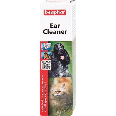 Beaphar Ear Cleaner лосьон для ухода за ушами кошек и собак 50 мл