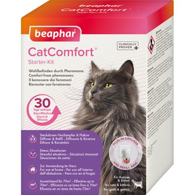 Beaphar Успокаивающее средство набор: диффузор со сменным блоком (Cat Comfort), 0,125 кг