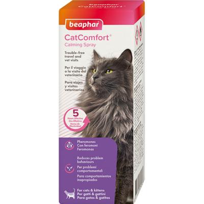 [273.4.903]  Beaphar Cat Comfort успокаивающий спрей 60 мл. 17126