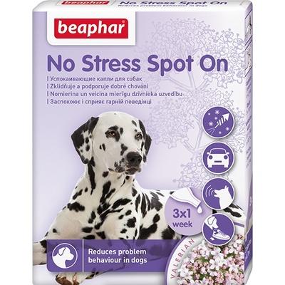Беафар 13912 No Stress Spot On Капли длЯ собак обак успокаивающие 3пипетки*0,7мл