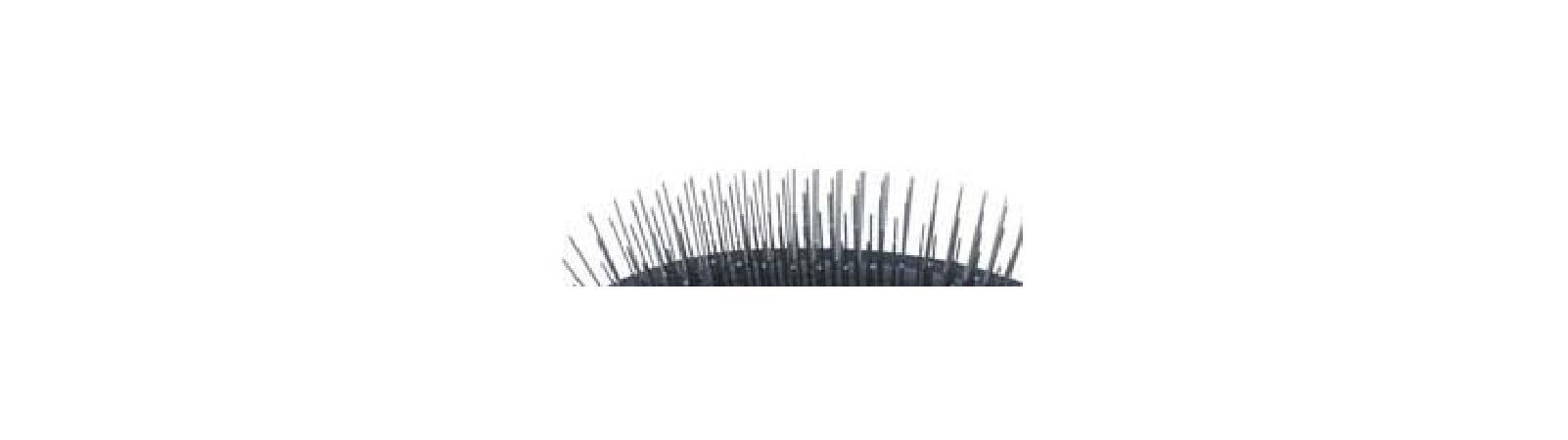 SHOW TECH Pin brush Large щетка массажная с пластиковой ручкой, 24STE016