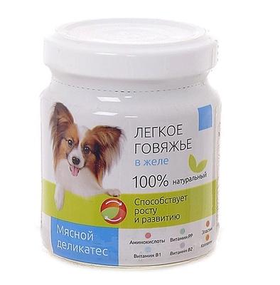 TiTBiT ВИА Консервы для собак Легкое говяжье в желе (003718) , 0,100 кг