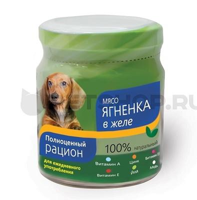 TiTBiT ВИА Консервы для собак мясо ягненка в желе (004401) , 0,100 кг