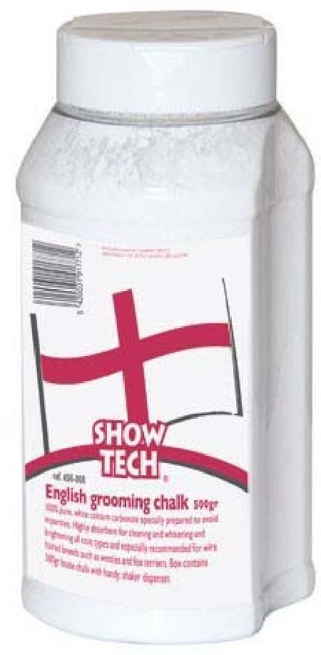 SHOW TECH English Grooming Chalk грумерская пудра белая 400 г