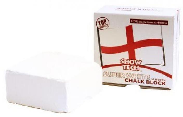 SHOW TECH English Magnesium Chalk Block мелок белый на основе магния прямоугольный 55 г