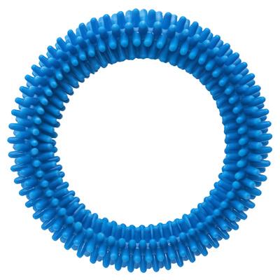 Tappi игрушки Игрушка Сириус для собак кольцо с шипами, голубой,  80 мм 85ор54, 0,116 кг, 41894