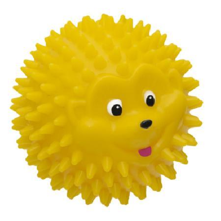 Tappi игрушки Игрушка Мю для собак мяч - ежик, желтый, 8,3см  85ор54, 0,116 кг, 41835