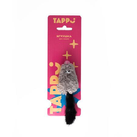 Tappi игрушки Игрушка Саваж для кошек  мышь с добавлением кошачьей мяты и с хвостом из натурального меха норки 29оп66, 0,015 кг, 37632