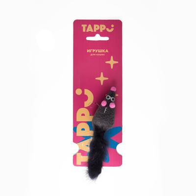 Tappi игрушки Игрушка  Саваж для кошек мышь с хвостом из натурального меха норки 29оп66, 0,013 кг, 37630