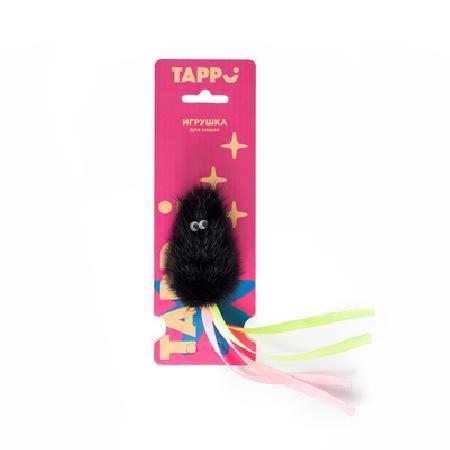 Tappi игрушки Игрушка Саваж  для кошек мышь из натурального меха норки с хвостом из лент 29оп66, 0,014 кг, 37638
