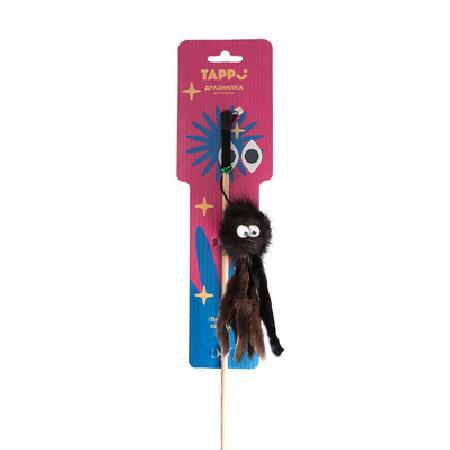 Tappi игрушки Игрушка Стим дразнилка для кошек осьминог из натурального меха норки на веревке 29оп66, 0,030 кг, 37642