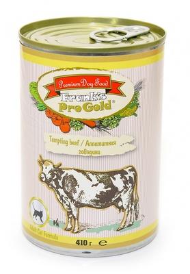 Franks ProGold консервы ВИА Консервы для кошек Аппетитная говядина (Tempting beef Adult Cat Recipe), 0,410 кг