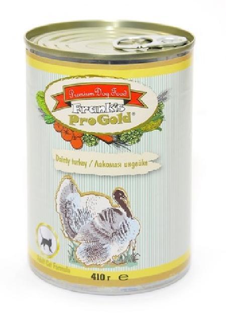 Franks ProGold консервы Консервы для кошек Лакомая индейка 69фо31 43629, 0,415 кг