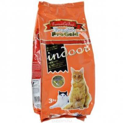 Franks ProGold Для домашних и кастрированных кошек (Indoor 36/12), 3,000 кг, 23299