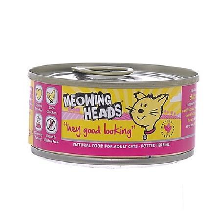 Barking Heads ВИА Консервы для кошек (банка) с курицей и рисом Эй, красавчик! WHGL100 Wet Hey Good Looking, 0,1 кг, 20652