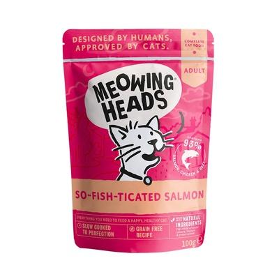 Barking Heads Консервы Паучи для кошек и котят с лососем, курицей и говядиной Фиш-гурман (So-fish-ticated Salmon 100g) MWSL100, 0,100 кг