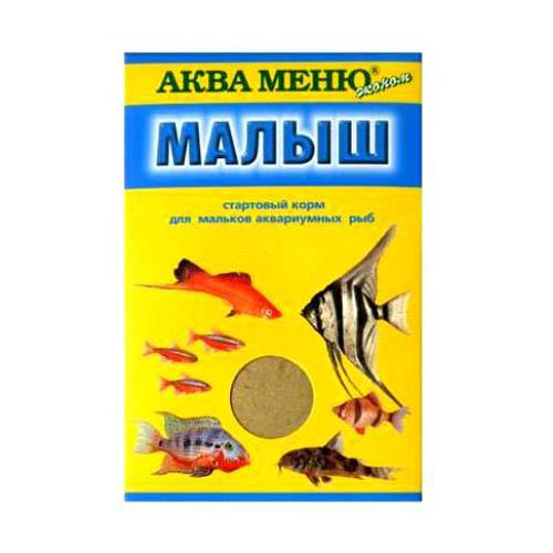 Аква Меню Корм Малыш  650010, 0,015 кг