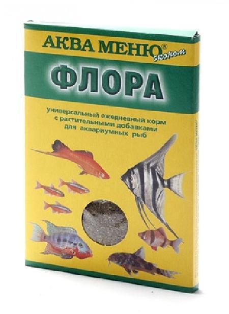 Аква Меню Корм Флора   650119, 0,030 кг