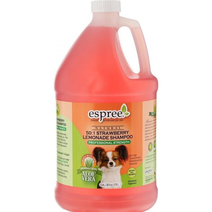 ESP00110 Шампунь Клубничный лимонад для собак и кошек (концентрат). Strawberry Lemonade Shampoo (50:1), 3790 ml  , ESP00110