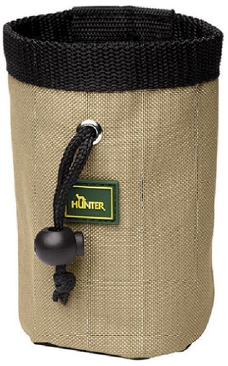 Hunter сумочка для лакомств малая простая (без кармана для кликера и клипсы для ремня), 46578