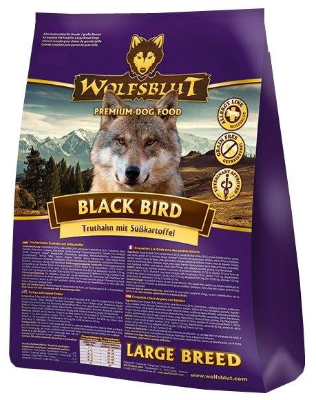 Wolfsblut Корм Black Bird Large Breed (Черная птица для крупных пород) 15 кг, WBBBLB15