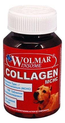 Wolmar Winsome Collagen MCHC комплекс для собак, для опорно-двигательного аппарата 180 таблеток, 800100378