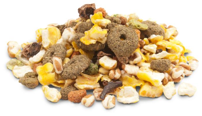Versele-Laga Crispy Snack дополнительный корм для грызунов, с попкорном 650 гр