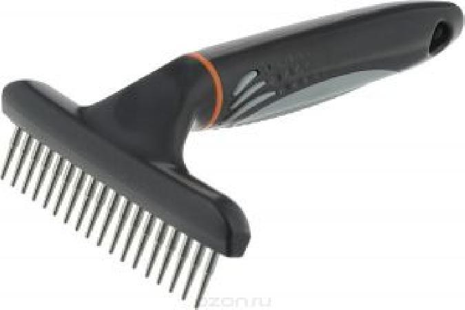 Beeztees 661250 Profur Расческа-Тримминг редкие вращающиеся зубья 15см, 24907