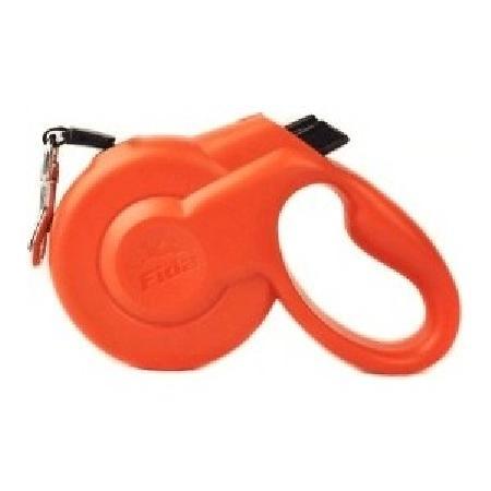 Fida Styleash рулетка-ремень для собак малых пород S (до 15 кг), красный