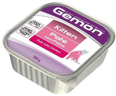Gemon влажный корм для котят всех пород, курица 100 гр