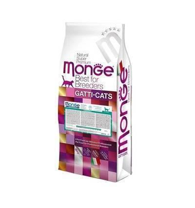 Monge Cat Hairball корм для кошек всех пород и возрастов, для выведения шерсти 10 кг