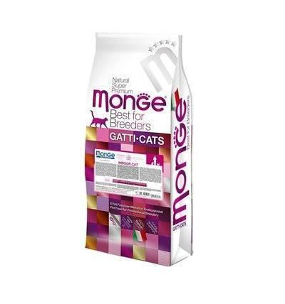 Monge Cat Indoor корм для кошек всех возрастов и пород, живущих в помещении, курица и рис 10 кг