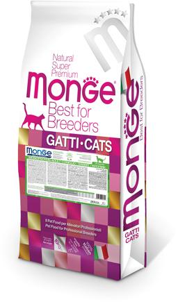 Monge Cat Monoprotein Sterilised корм для стерилизованных кошек всех пород, кролик (выведен) 10 кг (выведен)
