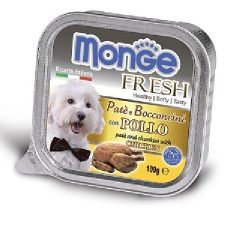 Monge Dog Fresh влажный корм для собак всех пород и возрастов, курица 100 гр