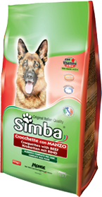 Simba Dog корм для собак с говядиной 10 кг