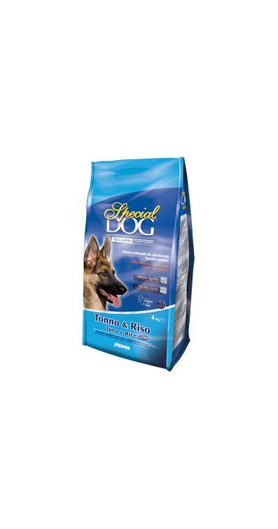 Special Dog корм для собак с особыми потребностями (с чувствительной кожей и пищеварением) тунецрис 15 кг
