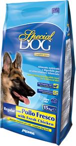 Special Dog корм для собак со свежей курицей 15 кг, 70007696