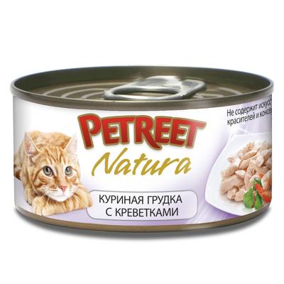 Petreet Консервы для кошек с куриной грудкой А53516, 0,070 кг, 54001