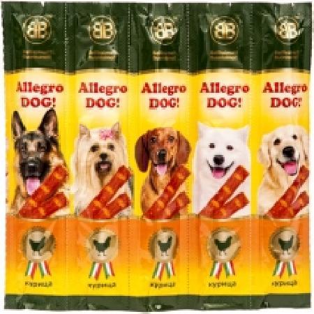 B&B Allegro ВИА Колбаски для собак с курицей, 5шт (36448), 0,050 кг, 18578