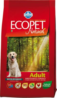 FARMINA ВИА Сухой корм для собак всех пород Ecopet Natural курица 4482, 2,500 кг
